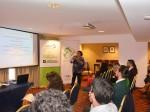 Presentación de María Luisa Ojeda, profesional del CERE, quien expuso sobre la experiencia de la Universidad de Magallanes en el Programa de Asesoramiento Curricular en Eficiencia Energética.