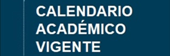 Calendario académico vigente