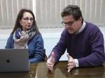 Academicos de la Universidad de Sevilla Julian López y Marita Sánchez