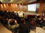 El conversatorio contó con la asistencia de estudiantes y academicos de las carreras de Pedagogia UMAG